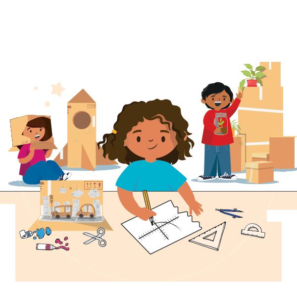 personaje de proyectos de aprendizaje